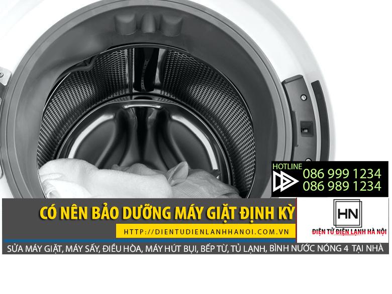 bảo dưỡng máy giặt định kỳ để sử dụng máy hiệu quả hơn