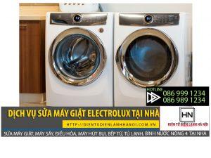 Dịch vụ sửa máy giặt Eletrolux tại nhà